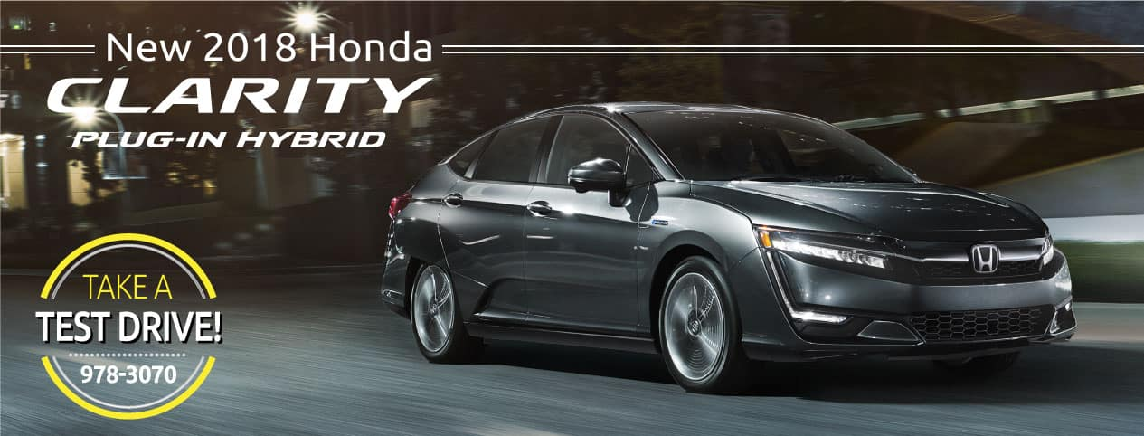 Header Photo of the new 2018 Honda Clarity