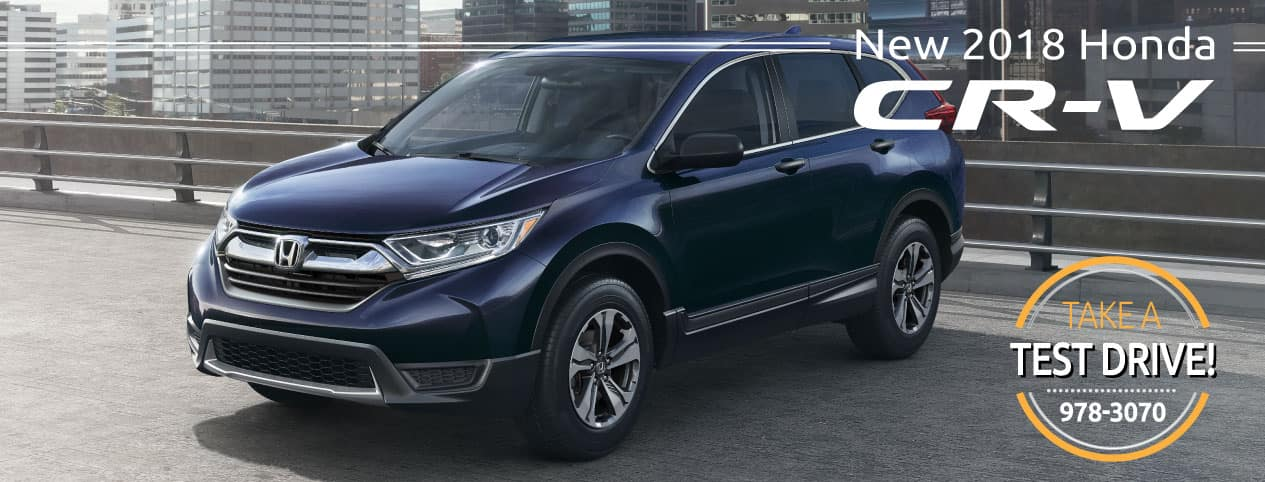 Header Photo of the new 2018 Honda CR-V
