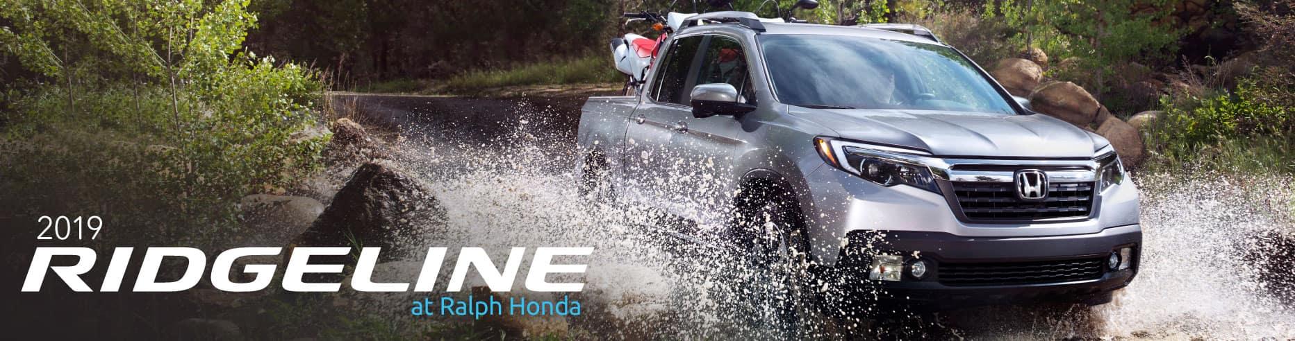 Header Photo of the 2019 Honda Ridgeline