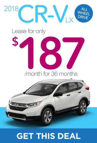 2018 Honda CR-V Offer