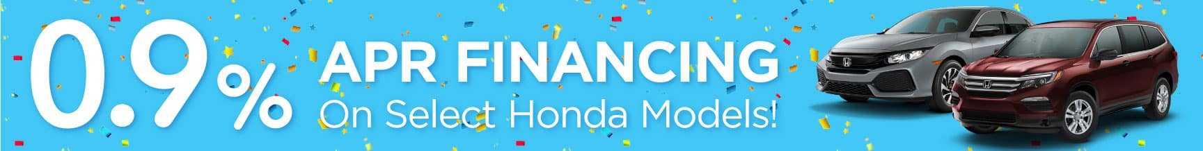 0.9% APR Available on Select Models!