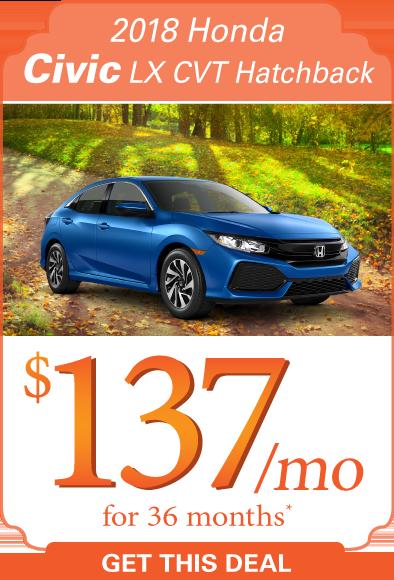 2018 Honda Civic Offer