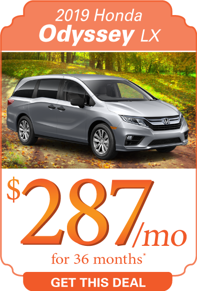2019 Honda Odyssey Offer