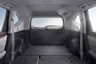 60/40 Split Rear Fold-Flat Seating