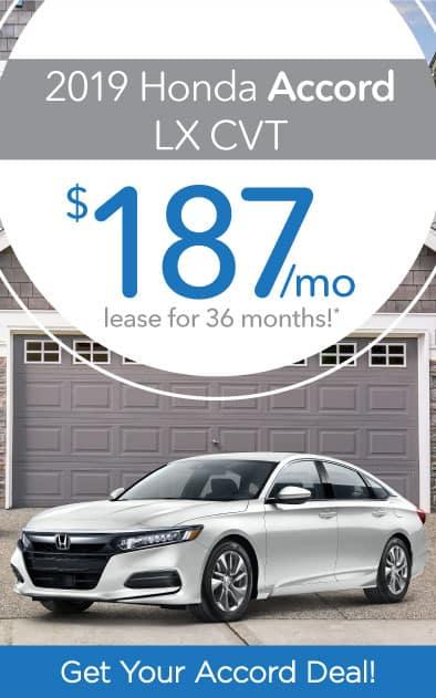 2019 Honda Accord Offer