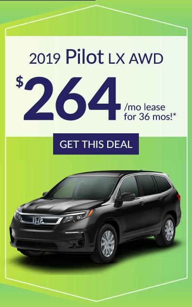 2019 Honda Pilot Offer