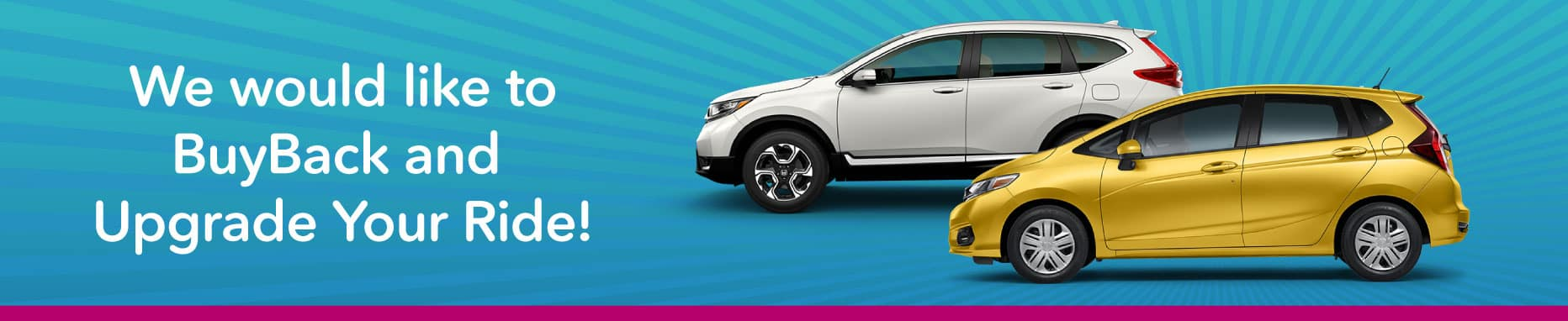 BuyBack and Upgrade Your Vehicle!