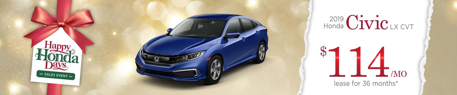 Header Photo of the 2019 Honda Civic