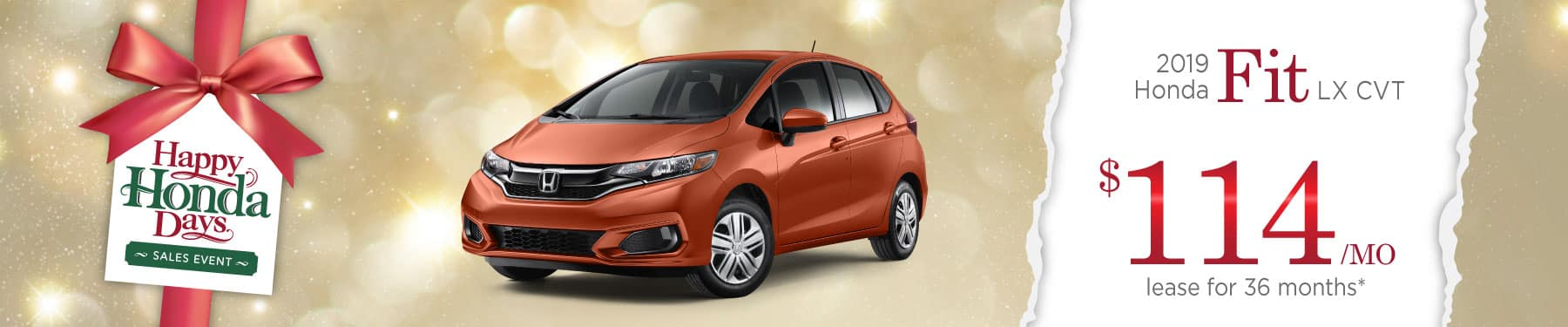 Header Photo of the 2019 Honda Fit