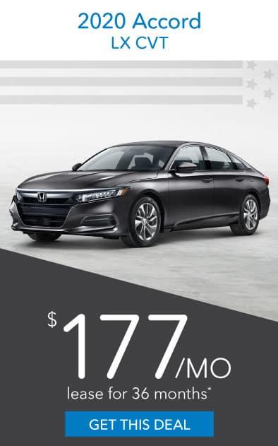 2020 Honda Accord Offer