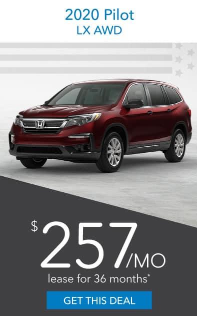2020 Honda Pilot Offer