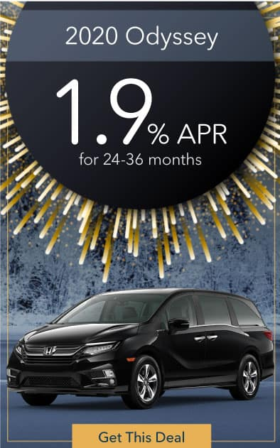 2020 Honda Odyssey Offer