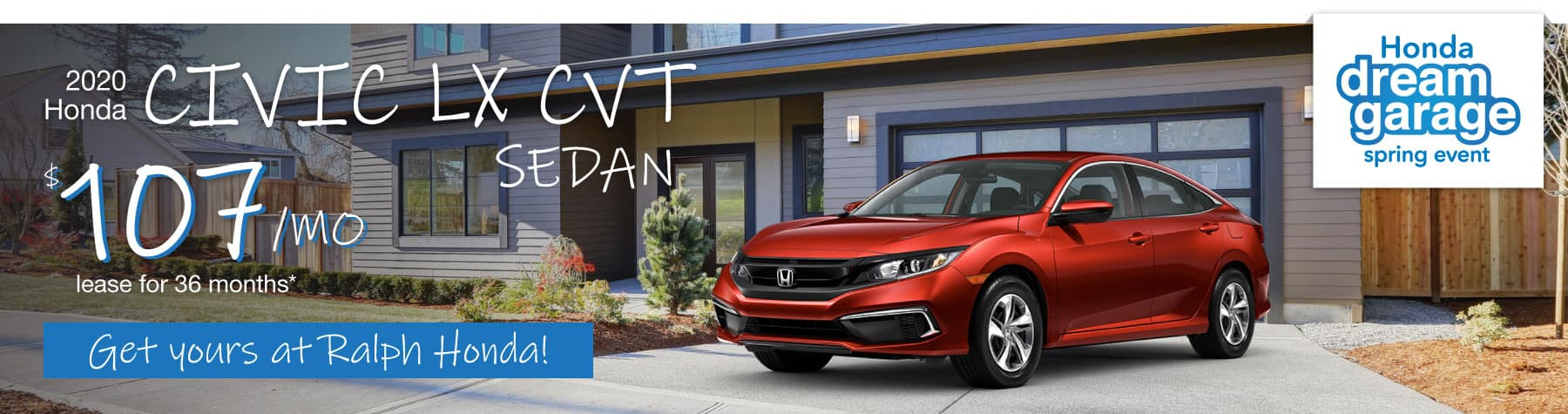 Header Photo of the 2020 Honda Civic