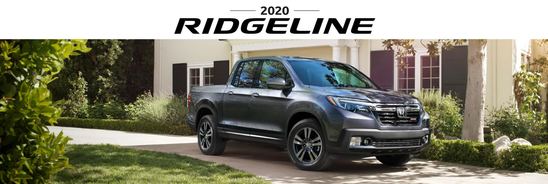 Header Photo of the 2020 Honda Ridgeline