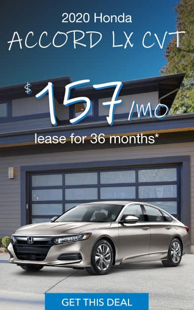 2020 Honda Accord Offer