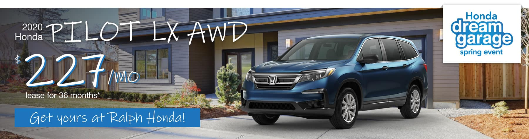 Header Photo of the 2020 Honda Pilot