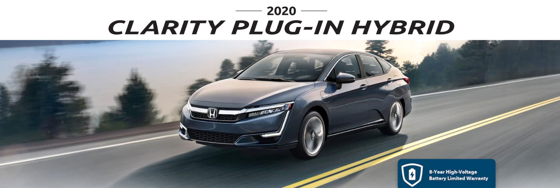 Header Photo of the 2020 Honda Clarity Plug-In Hybrid