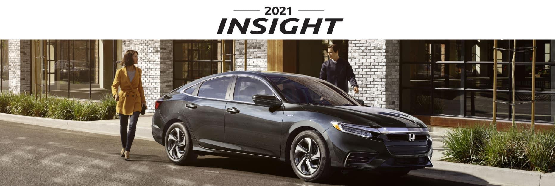 Header Photo of the 2021 Honda Insight