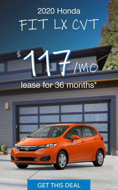 2020 Honda Fit Offer