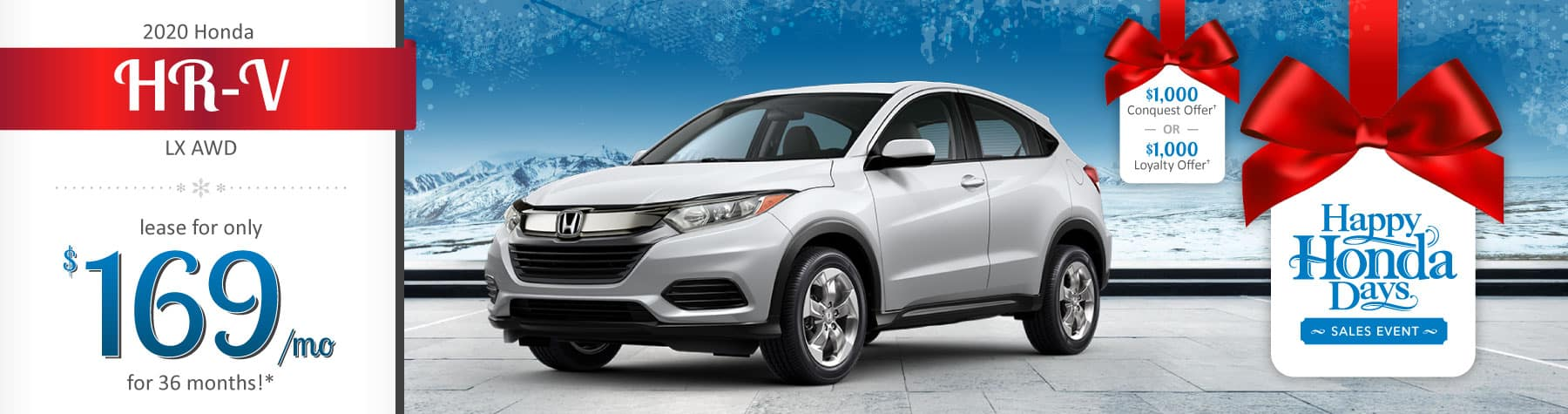 Header Photo of the 2020 Honda HR-V