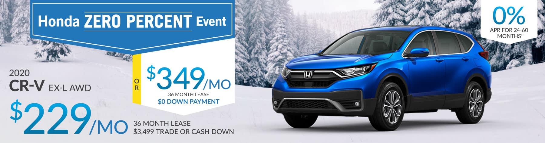 Header Photo of the 2020 Honda CR-V