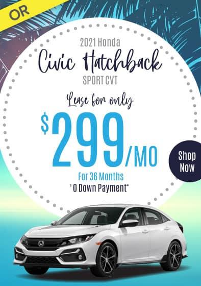 2021 Honda Civic Offer