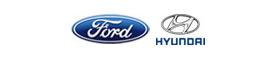 Hyundai Ford Logos