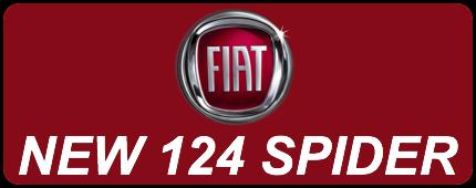 New FIAT 124 Spider