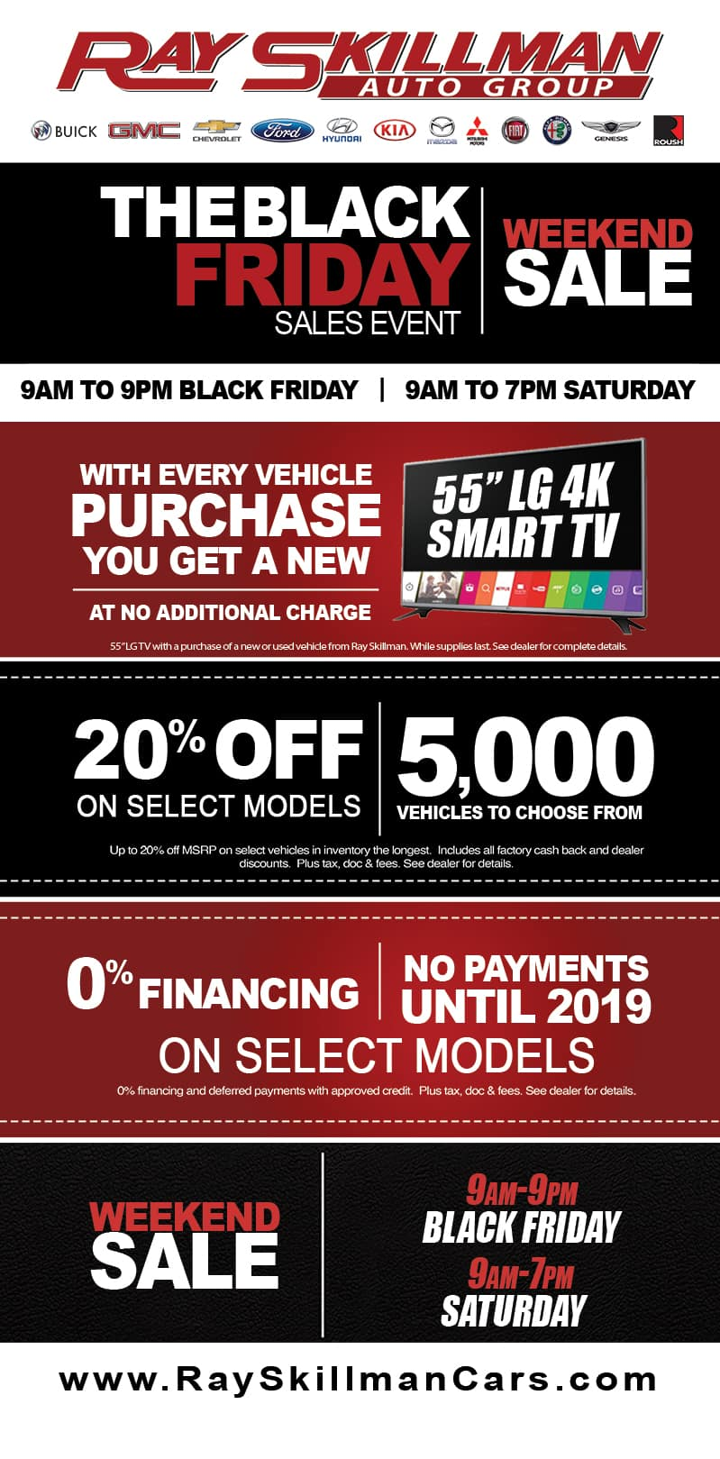 Black Friday Ray Skillman Auto Group Indianapolis In