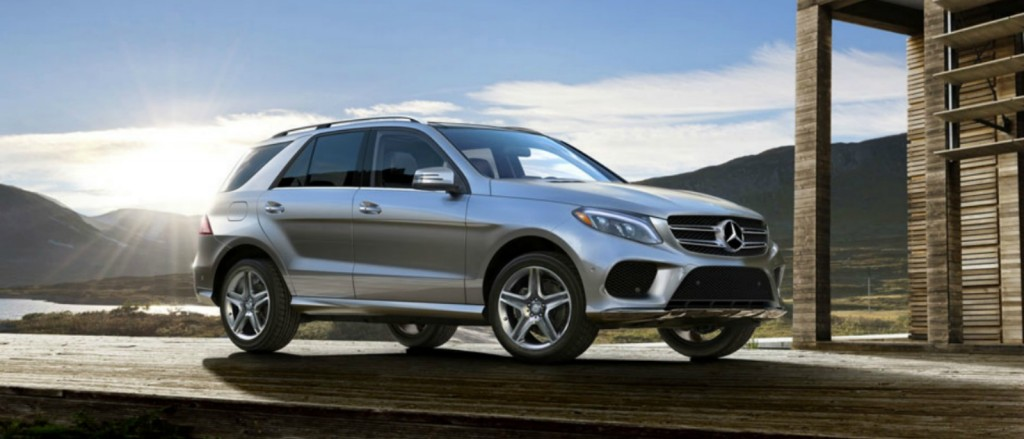 2017 Mercedes-Benz GLE350 SUV Lease