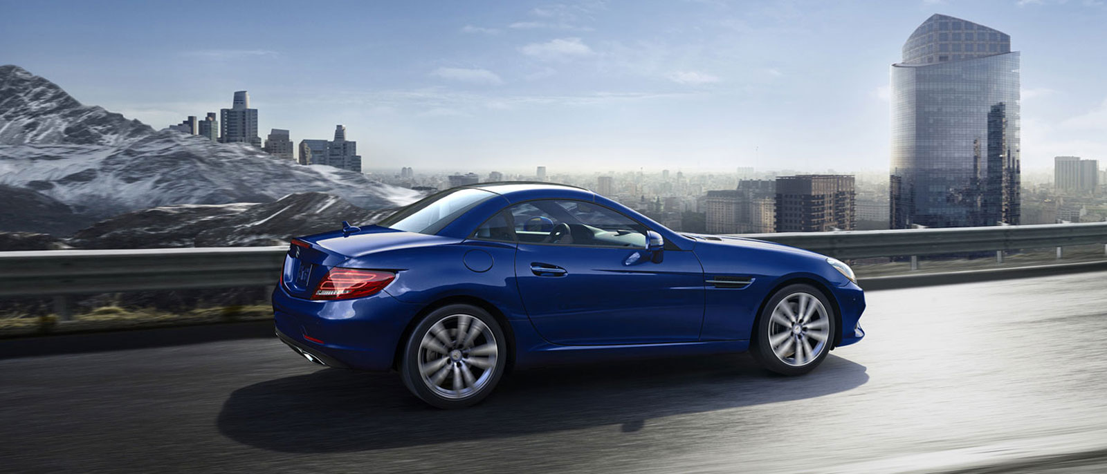 Experience the new 2017 mercedes benz slc300 roadster for Mercedes benz of south atlanta service coupons