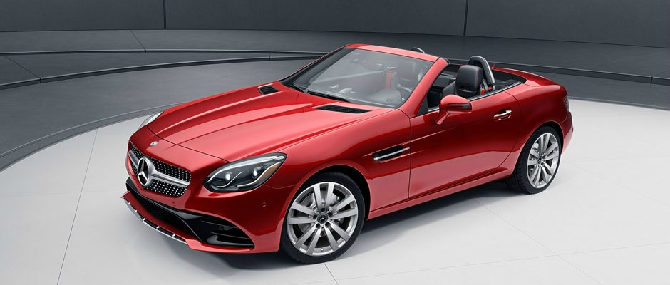 2019 Mercedes-Benz SLC 300 Roadster Lease