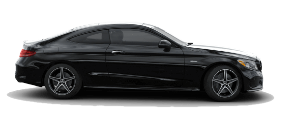 2018 Mercedes-Benz AMG C 43 Coupe white background