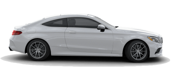 2018 Mercedes-Benz AMG C 63 Coupe white background