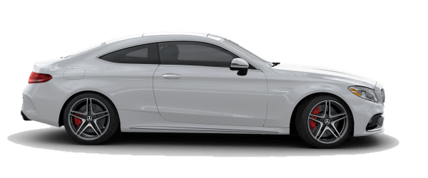 2018 Mercedes-Benz AMG C 63 S Coupe white background