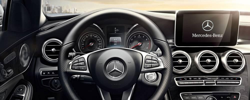 2017 Mercedes-Benz C 300 Front Interior