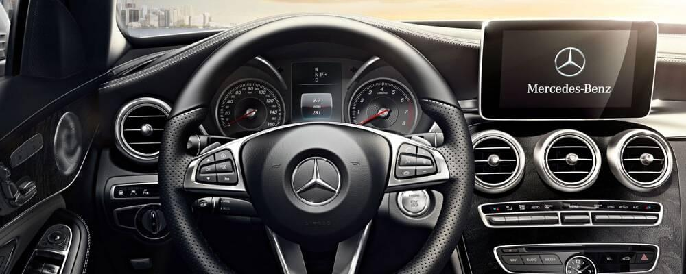 Discover the 2017 mercedes benz c class sedan interior for Mercedes benz service coupons 2017