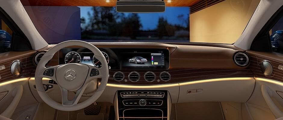 2017 Mercedes-Benz E-Class Technology Features