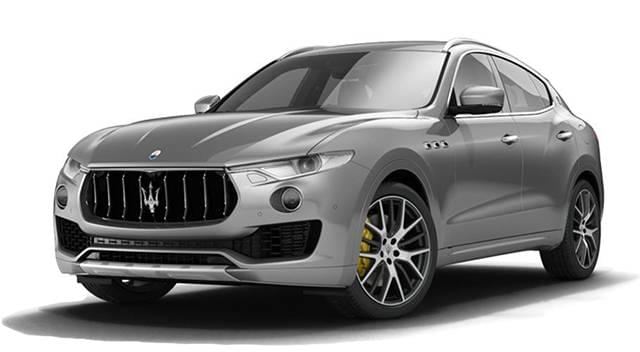 2017 Maserati Levante Silver
