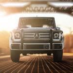 2017 Mercedes-Benz G-Class front view