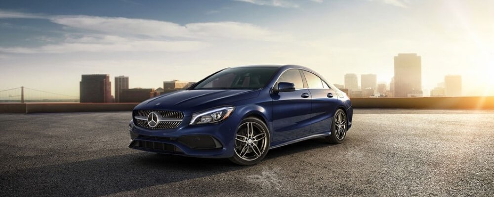 2017 Mercedes-Benz CLA Coupe Blue Exterior