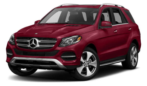 2017 Mercedes-Benz GLE SUV white background