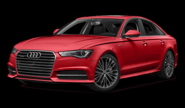 2017 Audi A6 white background