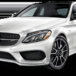 2017 Mercedes-Benz AMG C43 SEDAN white exterior model