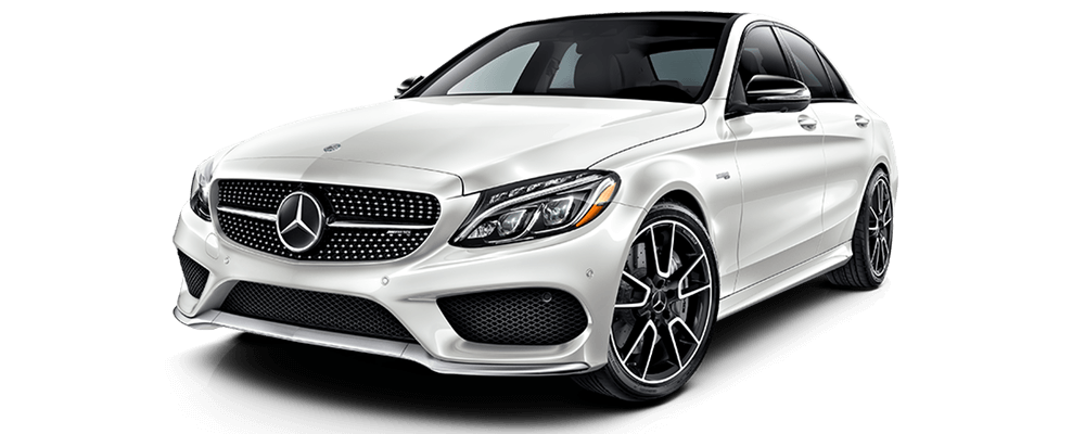 2017 Mercedes-Benz AMG C43 SEDAN white exterior model