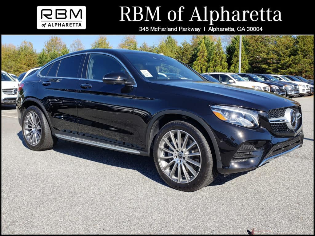 2018 Mercedes-Benz GLC 300 4MATIC Coupe Pre-Owned Executive Demo Special