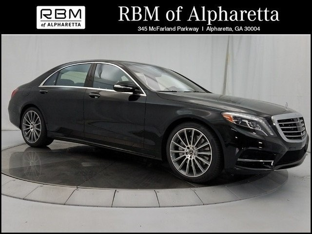 2017 Mercedes-Benz S 550 Sport Sedan Pre-Owned Executive Demo Special
