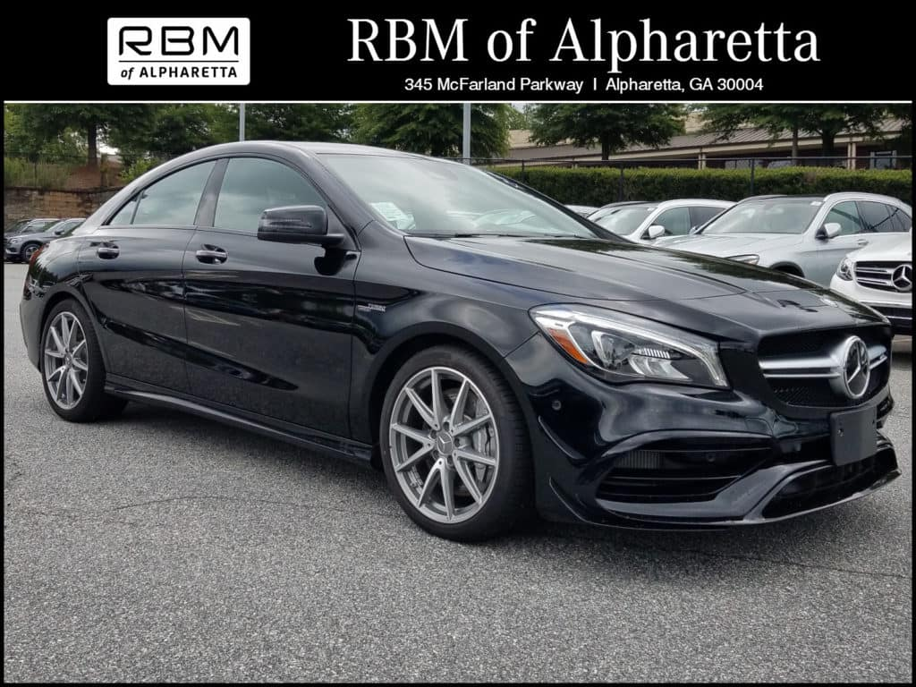 2018 Mercedes-Benz AMG CLA 45 Coupe 4MATIC Pre-Owned Executive Demo Special