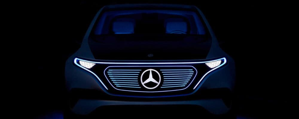 Mercedes-Benz EQ A Concept front exterior