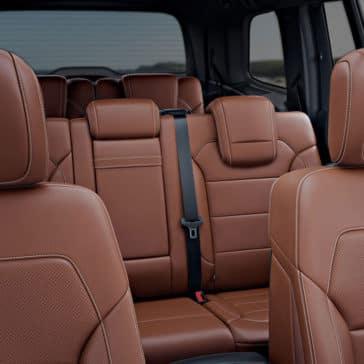 2018 Mercedes-Benz GLS Interior Seating